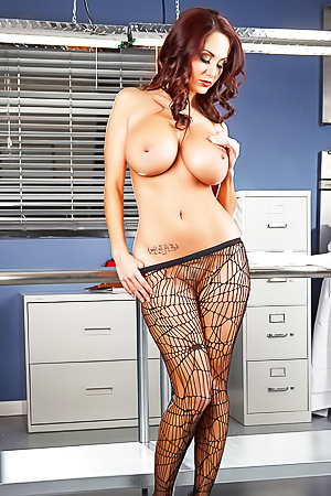 Ava Addams in super sexy stockings